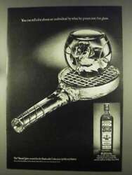 1977 Old Bushmills Whiskey Ad - What He Pours Into Glass
