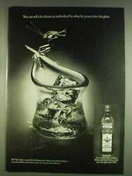 1978 Old Bushmills Irish Whiskey Ad - Tell About An Individual