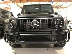 Front Grille Guard For Mbz W464 G63 2018+ G Class Oem Black Part4638807801