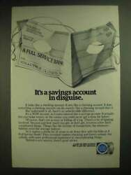 1981 American Bankers Association Ad - It's A Savings Account In Disguise