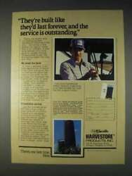 1982 A.o. Smith Harvestore Products Ad - Last Forever