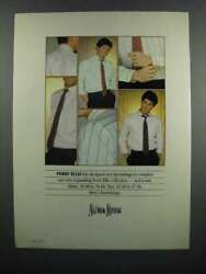1983 Neiman -marcus Perry Ellis Shirts And Ties Ad