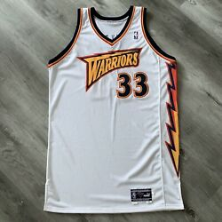 Team Issue Antawn Jamison 2000-01 Golden State Warriors 52 +4 Jersey Signed