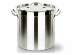 Stock Pot Large Bucket Cooking Ware Stainless Steel Kitchen Induction Gas Cooker