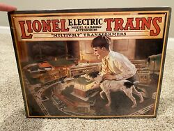1926 Lionel Electric Trains Catalog Cover Tin Sign