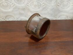 1920's 1930's Ford Glass Marker Plate Tail Stop Brake Light