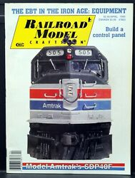 Railroad Model Craftsman Magazine Andbull April 1990 See Table Of Contents