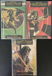 Green Arrow 1-3 Longbow Hunters Dc Comic Books Mike Grell Haines Lacquement