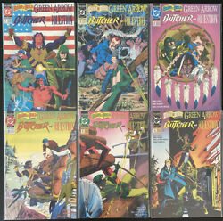 The Brave And The Bold Presents 1 - 6 Green Arrow Butcher Question Dc Comic Books