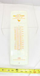 Advertising - Chicken Feed Thermometer - Agway