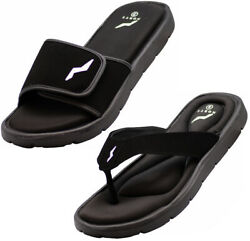 NORTY Men#x27;s Memory Foam Footbed Sandals Casual for Beach Pool Shower $15.90