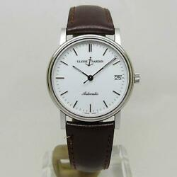 Ulysse Nardin Genuine Watch 135-22 Sun Sheer Automatic Menand039s White Dial