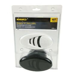 Power Products Marinco 10079 Drop-in H Horn W/ Black And White Grills 12v