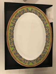 Russian Dreams By Versace - Set Of 2 Oval Serving Platters