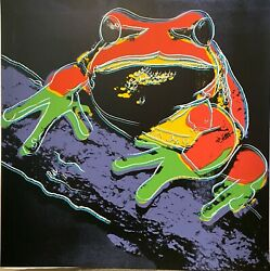 Andy Warhol- Tree Frog - From Endangered Species Suite-1983 -silkscreen Proof