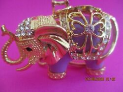 Good Luck Elephant Key chain With Crystals mnwt $14.99