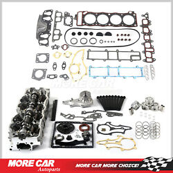 Head Gasket Bolt Timing Chain Cover Water Pump Cylinder Head Set Fit Toyota 2.4l