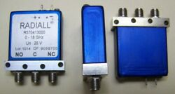 This Is For One Radiall Fail-safe Spdt Sma Relay Tested Dc-24.5ghz .15db Loss