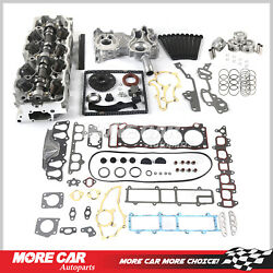 Head Gasket Bolts Timing Chain Cover Set Piston Cylinder Head Fit 85-95 Toyota