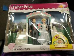 Vintage Fisher Price Loving Family Bride And Groom 1999 Unopened Toy Walmart