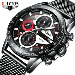 Reloj Hombre 2020 Lige Official Store Top Brand Fashion New Mens Watches