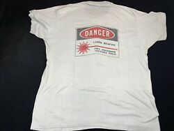 Vintage 1984 Jacksons Victory Tour Show Lasers Crew T-shirt Size Xl Extra Large