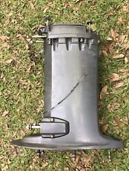 Yamaha 50hp 20 Inch Shaft Exhaust Housing 2006 Outboard Boat Motor