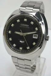 Citizen Seven Star Acss 3201-y Vintage Custom Deluxe Ss Automatic Mens Watch