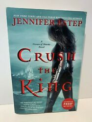 2020 Arc Crush The King A Crown Of Shards Novel By Jennifer Estep Softcover