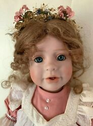 Carol Ann Collectibles Porcelain Doll Unique And Rare  20 12 Of 18