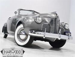 1940 Buick Super 56C  1940 Buick Super 56C  66237 Miles Gray Convertible 248 cubic inch straight-8 Man