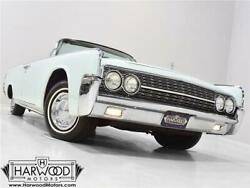 1962 Lincoln Continental  1962 Lincoln Continental  71552 Miles Light Blue Convertible 430 cubic inch V8 A