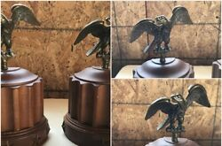 Tell City Chair Co Furniture Bookends Book Ends Eagles Wood Andover