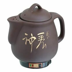 Automatic Electric Kettle Water Boiler Herb Tea Pot Home Kitchen Ceramic Kettles