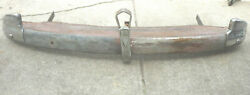 1941 Chevy Rear Bumper Guard Filler Panel Wing Tip And Trunk Guards And Brackets