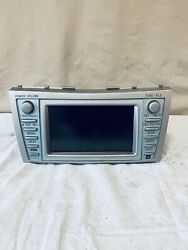 ✅ 07 08 09 Toyota Camry Sat Radio Cd Mp3 Aux Player Ac Climate Gps Screen Oem