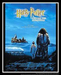 Harry Potter And Pilosopher Stone A 4x6 Ft French Movie Poster Original 2001
