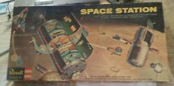Very Rare 1959 Revell Space Station--- Complete [minor Assembly] + Bonus