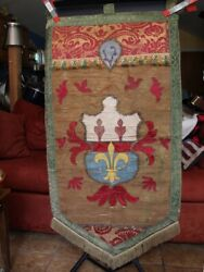 Rare Antique Tapestry Hanging from the late 1800#x27;s