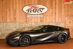 2018 Ferrari 812 Superfast  2018 Ferrari 812 Superfast  Nero Daytona Metallic 2dr Car Premium Unleaded V-12