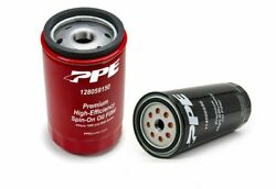 Ppe High-efficiency Oil And Double Deep Spin-on Trans Filters For 01-19 Gm Duramax