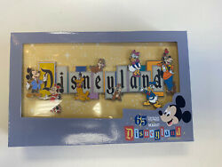 Disneyland 65th Anniversary Marquee Boxed Jumbo Pin 1000 Limited Edition New