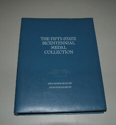 1976 The Fifty-state Bicentennial Medal Collection 50oz Sterling Silver - 1st Ed