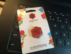 INTERNATIONAL HORTICULTURAL EXPO 2011 XIAN LOGO RED PIN