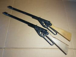 Vintage Daisy Model 105 B Rogers Ar. Bb Gun Lot Of 2 For Parts Or Repair