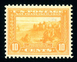 Rupp - 400, 10c Pan-pacific, Xf-og-nh, Well-centered, 2005 Pse Graded 90, Nh