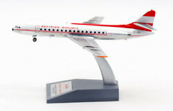 1200 Inflight Austrian Airlines Sud Se-210 Caravelle Iii Airplane Diecast Model