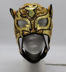 King Signed Ring Worn Lucha Libre Wrestling Mask Aaa Cmll Wrestler Pwg
