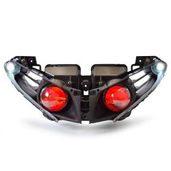 Kt Led Headlight For Yamaha Yzf R1 2012-2014 Red