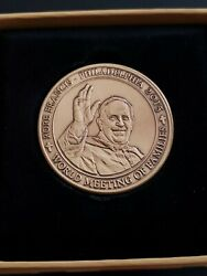 Pope Francis Commemorative Coin - World Meeting Of Families Philadelphia 2015